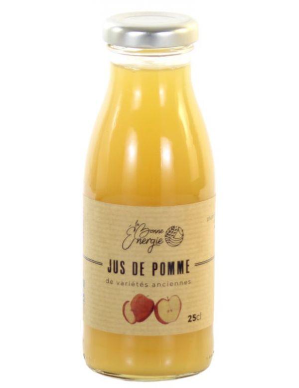 Jus de Pomme Bio variétés anciennes - La Bonne Énergie
