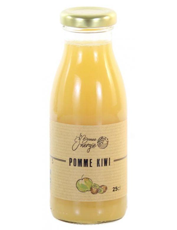 Jus de Pomme Kiwi Bio - La Bonne Énergie