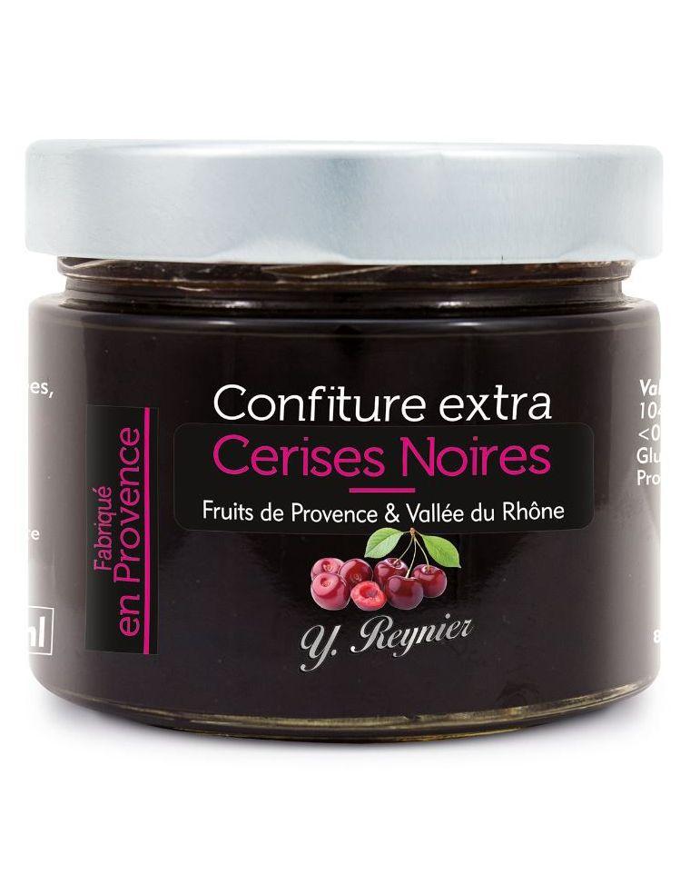 Confiture extra Cerises noires de Provence