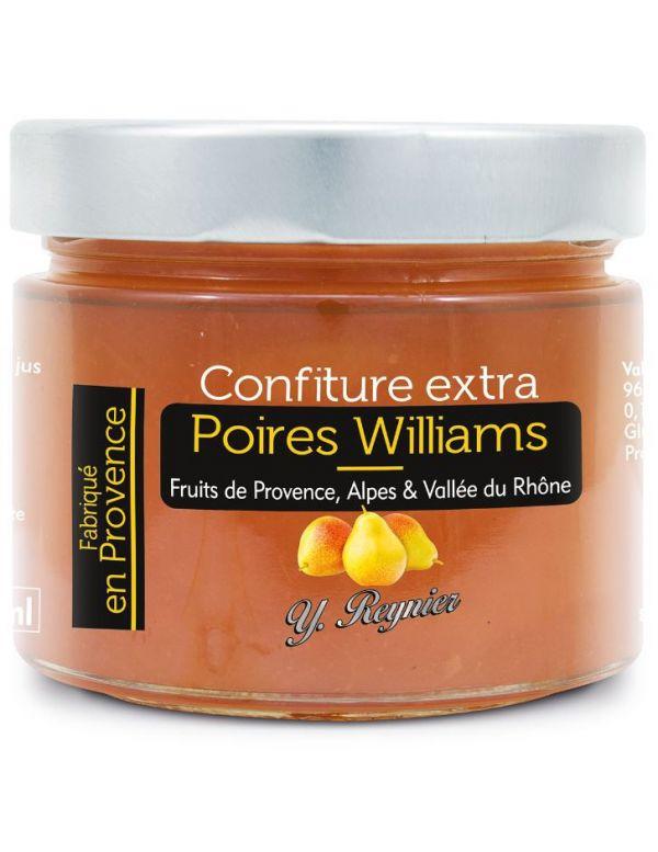 Confiture extra Poires Williams de Provence