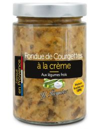 Fondue de Courgettes a la crème