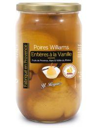 Poires Williams entières à la vanille, conserve de 850 g