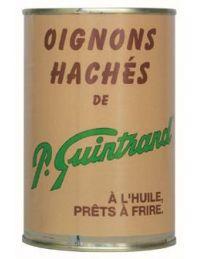 Oignons hachés conserve de 410 g