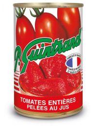 Tomates entières pelées au jus, conserve de 383 g