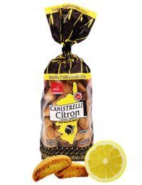 Canistrelli au citron sans huile de palme