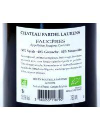 Vin Rouge Bio AOP Faugères - Château Fardel Laurens