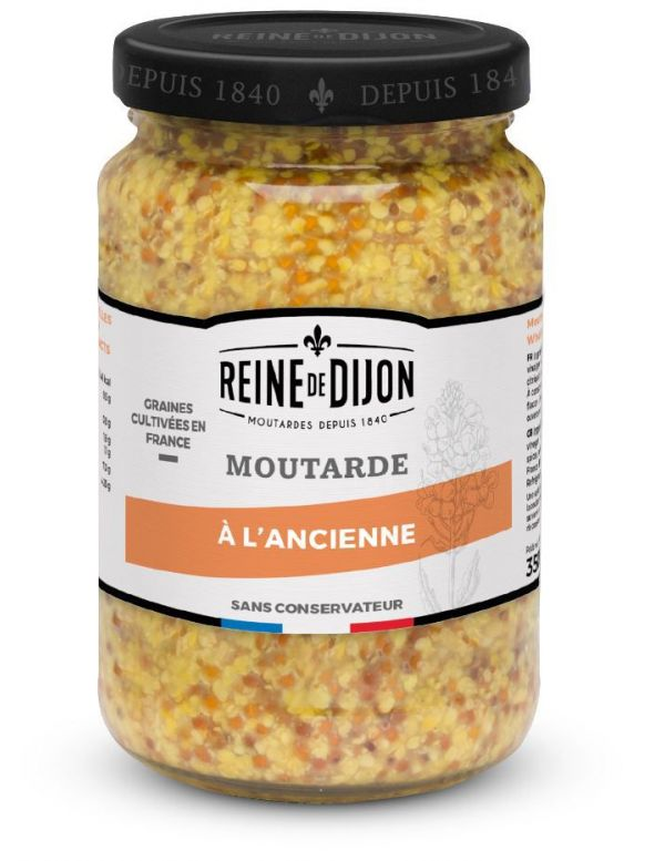 Moutarde Traditionnelle à l'Ancienne