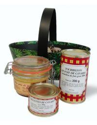 Panier Garni 3 produits dont 1 foie gras de canard