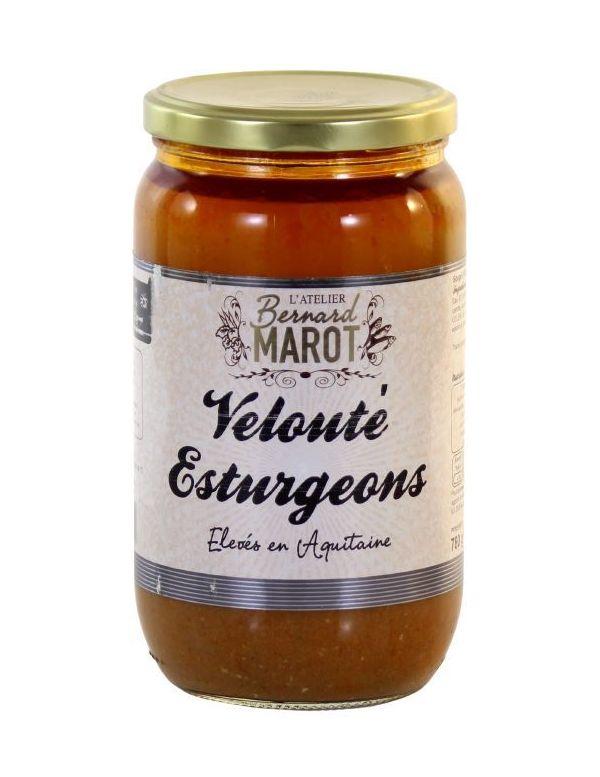 Velouté d'Esturgeons d'Aquitaine - Bernard Marot
