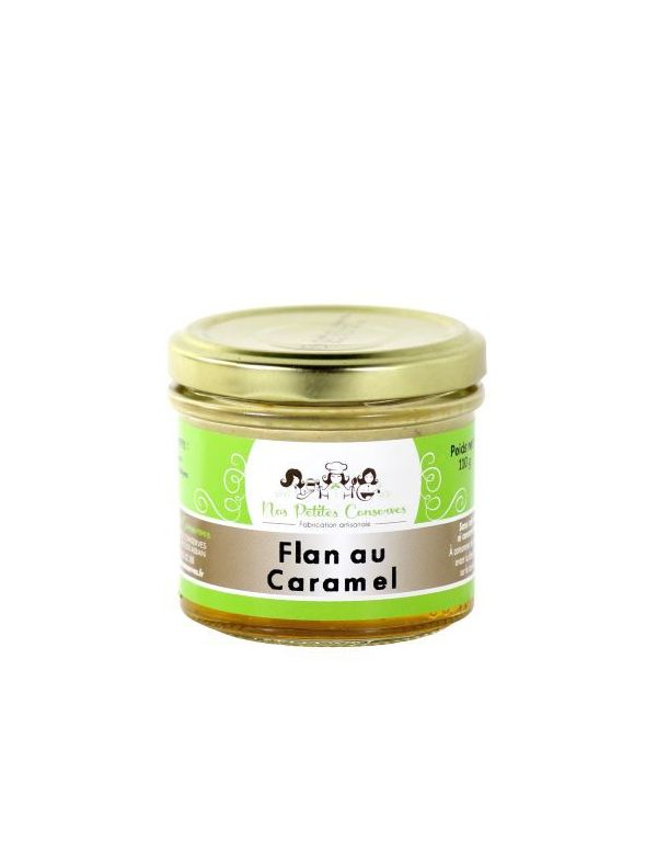 Flan au caramel verrine de 110 g