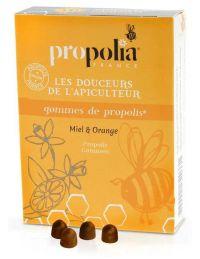 Gommes de Propolis Miel et Orange