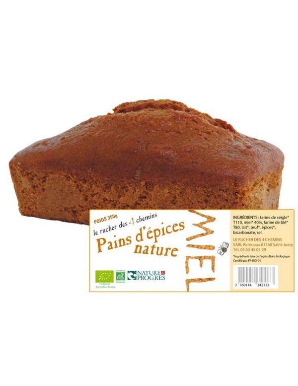 Pain d'épices au miel Bio