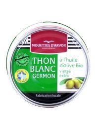 thon blanc à l'huile d'olive bio