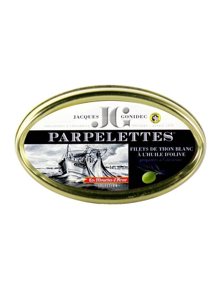 filets thon blanc parpelettes