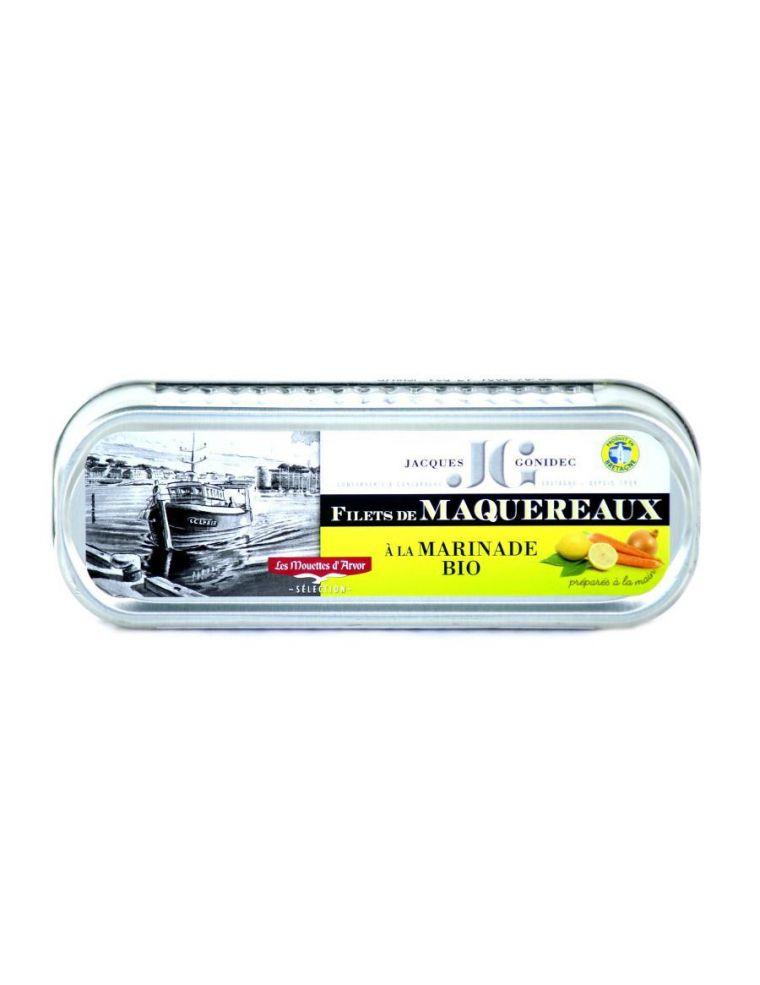 Filets de maquereaux à la moutarde bio