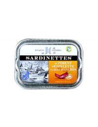Sardinettes au Piment d'Espelette