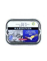 Sardine au beurre de baratte Bio