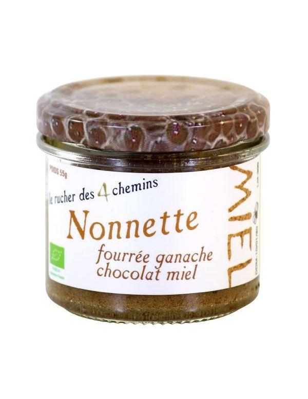 Nonnette Miel Chocolat Bio - Apiculture Remuaux