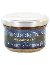 Émietté de Truite au Poivre Vert - La Truite des Pyrénées