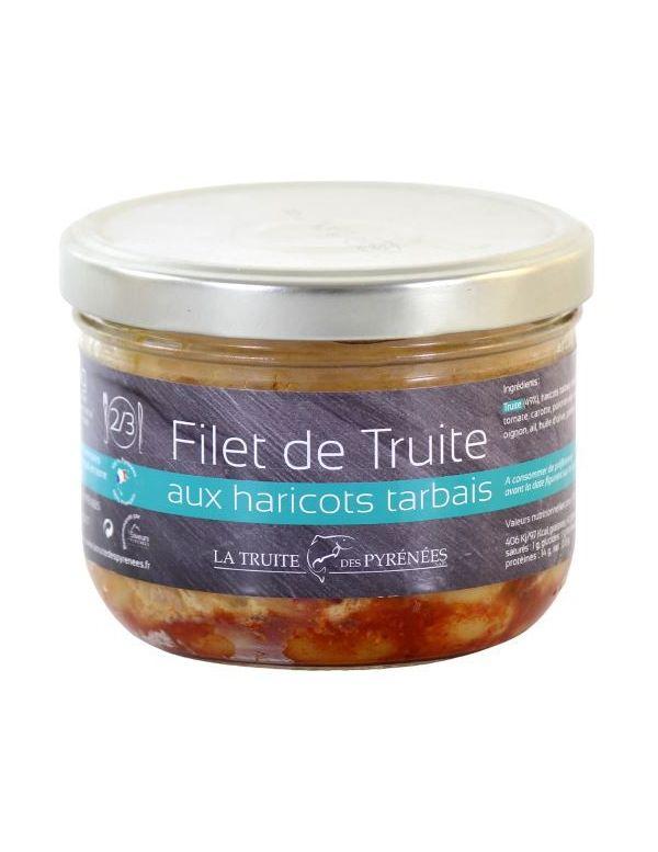 Filet de Truite aux haricots tarbais