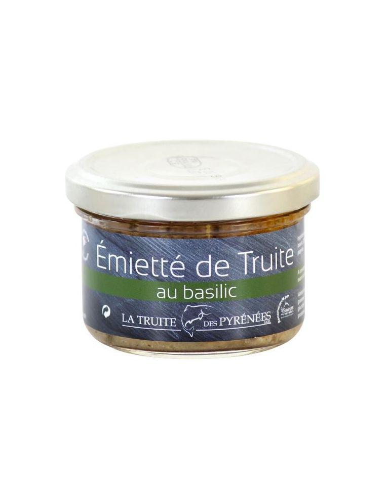Émietté de Truite au Basilic - La Truite des Pyrénées