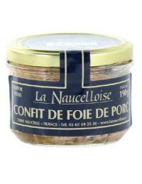 Confit de foie de porc conserve de 190 g