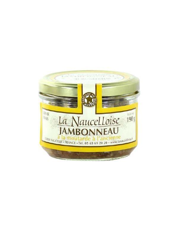 Jambonneau moutarde à l'ancienne verrine de 190 g