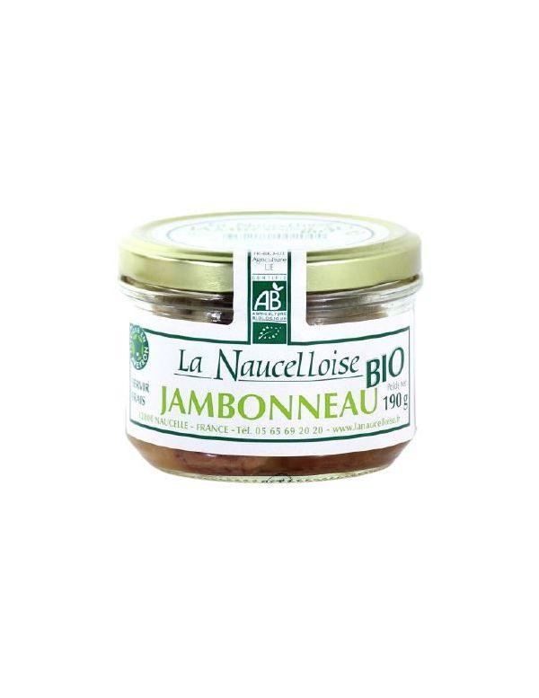 Jambonneau Bio verrine de 190 g
