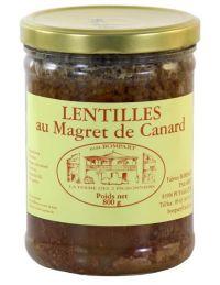 Magret-de-canard-aux-lentilles