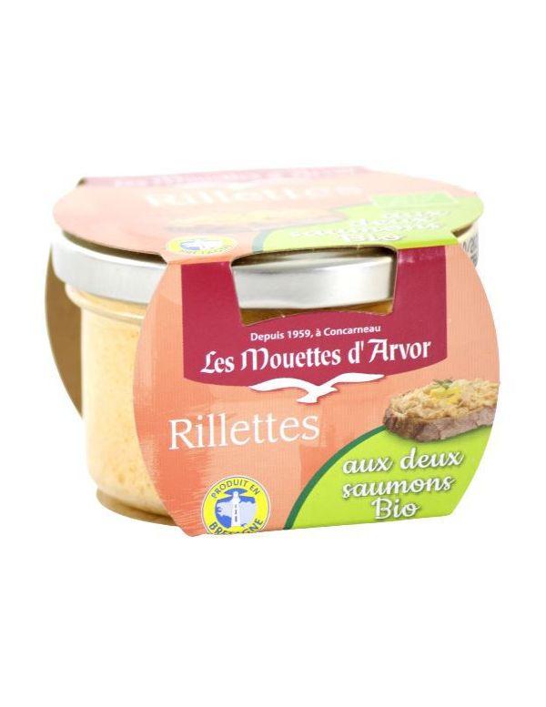 rillettes saumon bio