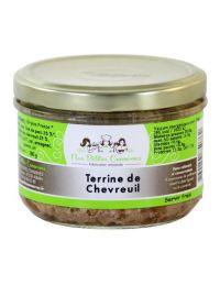 Terrine de chevreuil en verrine