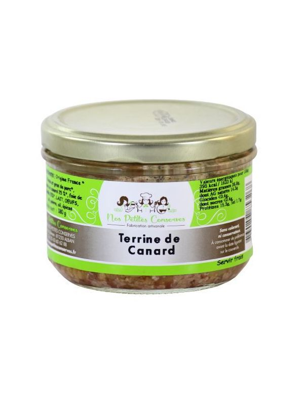 Terrine de canard en verrine à partir de 125 g