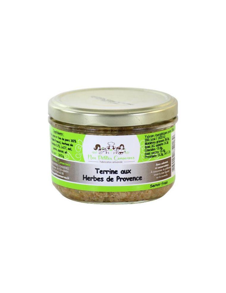 Terrine aux herbes de Provence verrine de 180 g