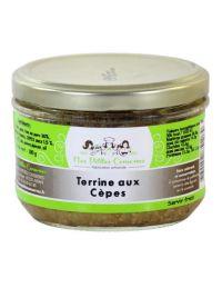 Terrine aux cèpes verrine de 180 g