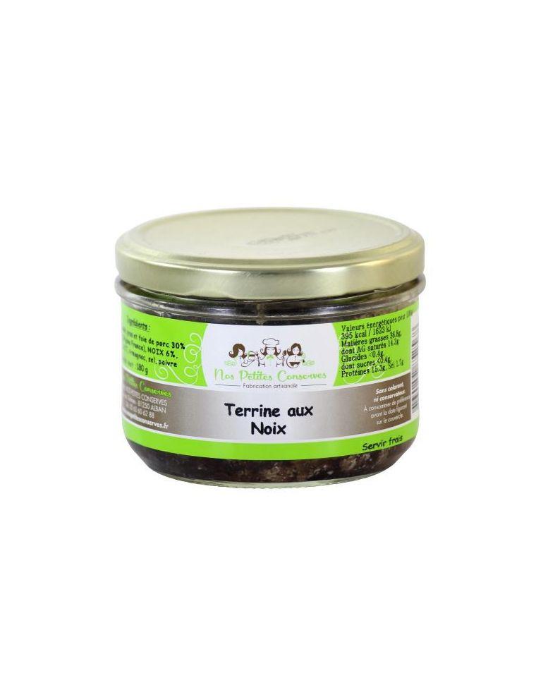 Terrine au noix verrine de 180 g