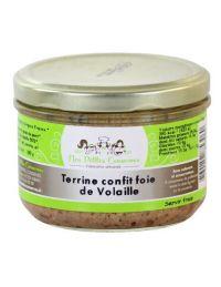 Terrine au confit de foie de volaille en verrine