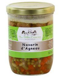 Navarin d'Agneau plat cuisiné pour 4 personnes