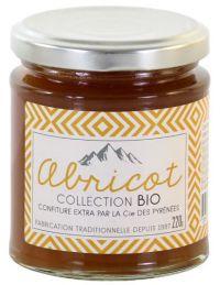 Confiture extra d'abricot Bio