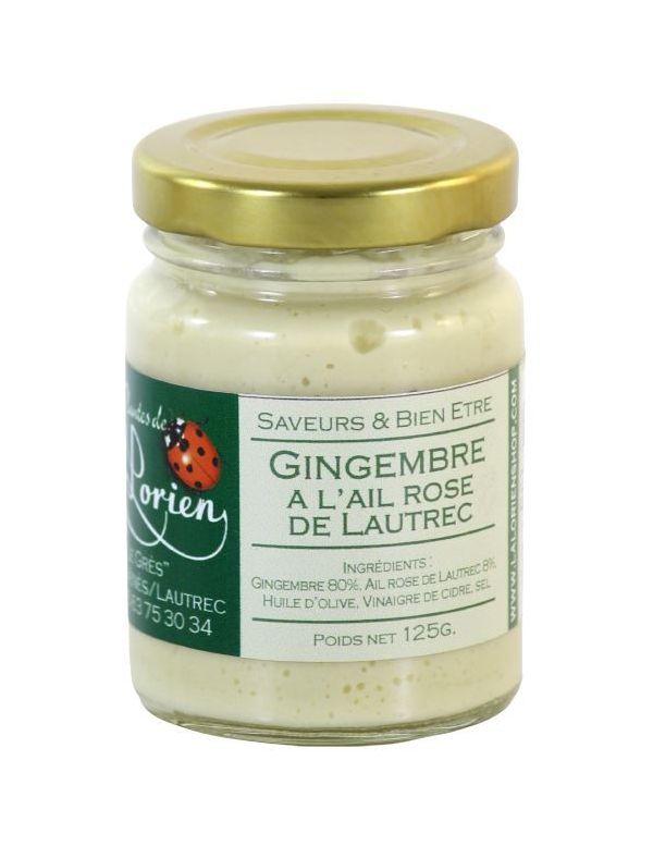 Crème de Gingembre à l'ail rose de Lautrec 125 g