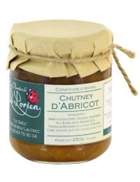 Chutney d'Abricot pot de 250 g