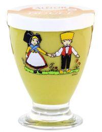 Moutarde douce d'Alsace, Verre Hansi, 280 g