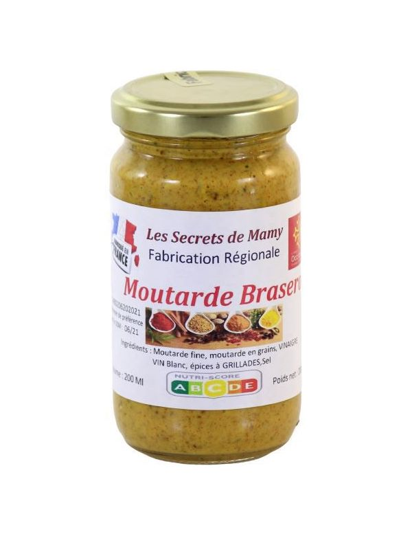 "Moutarde spécial barbecue ""Brasero"""
