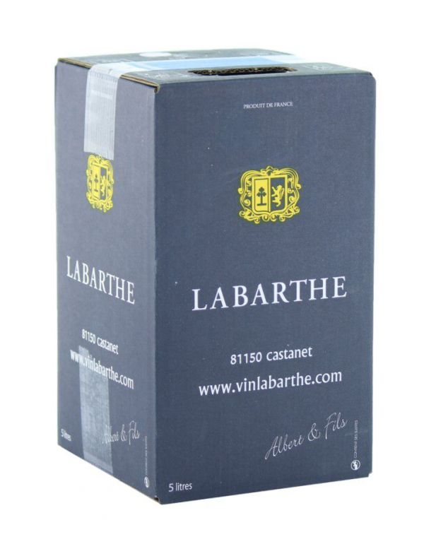 Bib de Vin Rosé AOC Gaillac 5 L - Domaine de Labarthe