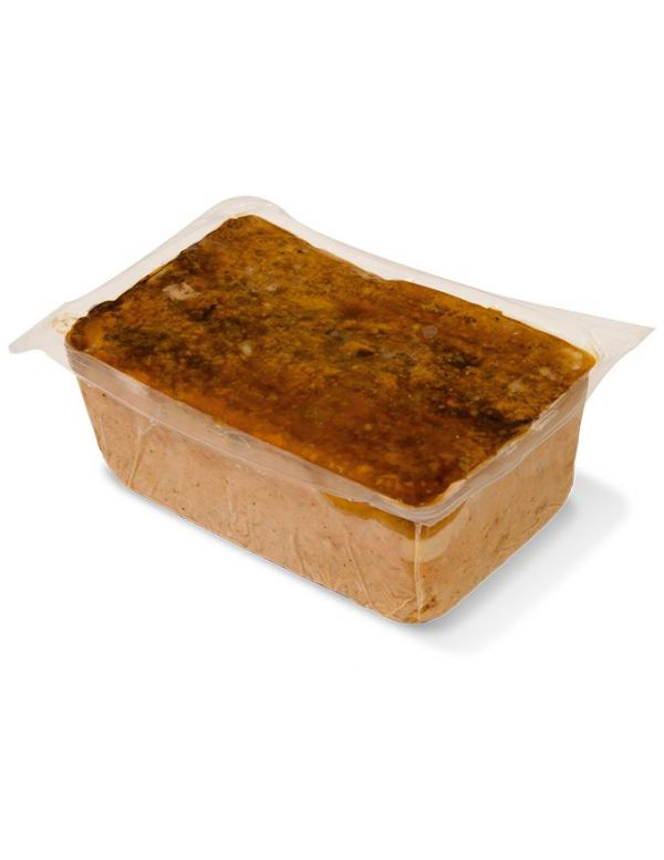 Terrine de campagne en pain de 1kg