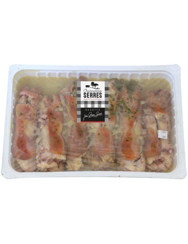 Pieds de porc cuits en vinaigrette par lot de 6