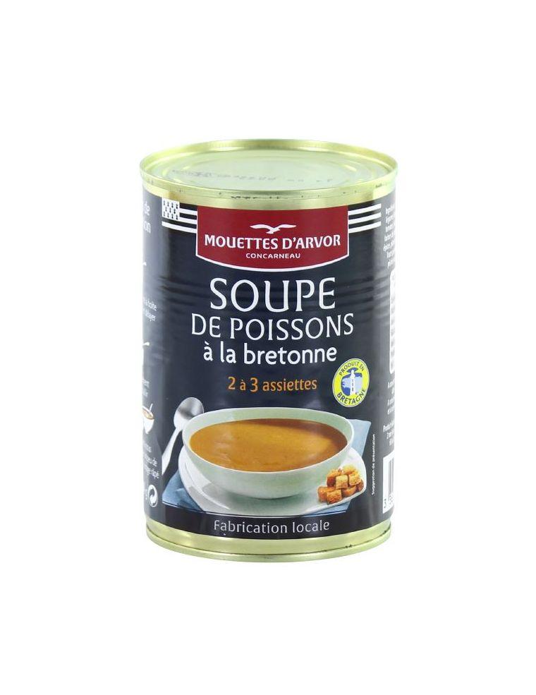 Soupe de poisson à la bretonne en conserve
