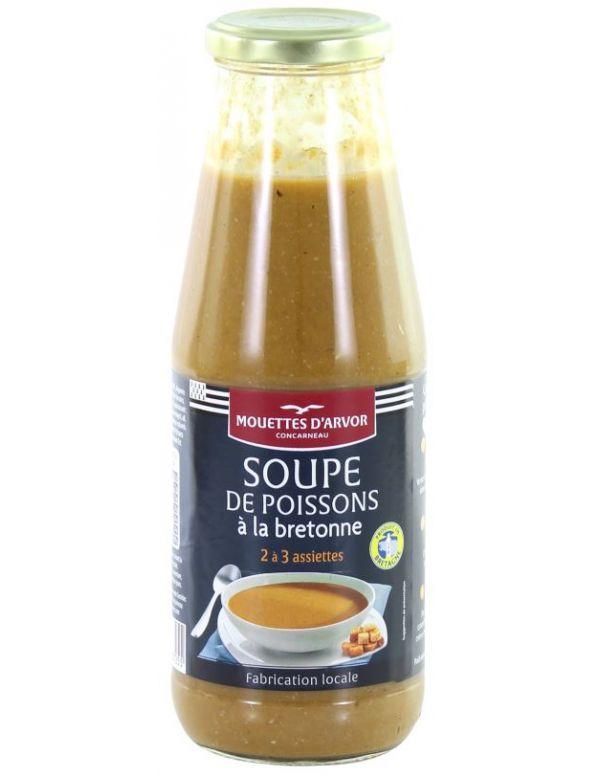 Soupe de poissons à la bretonne en conserve