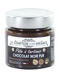 Noir Pur : Pâte à tartiner 100 % Chocolat Noir - Le Comptoir