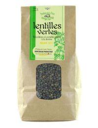 Lentilles vertes direct producteur