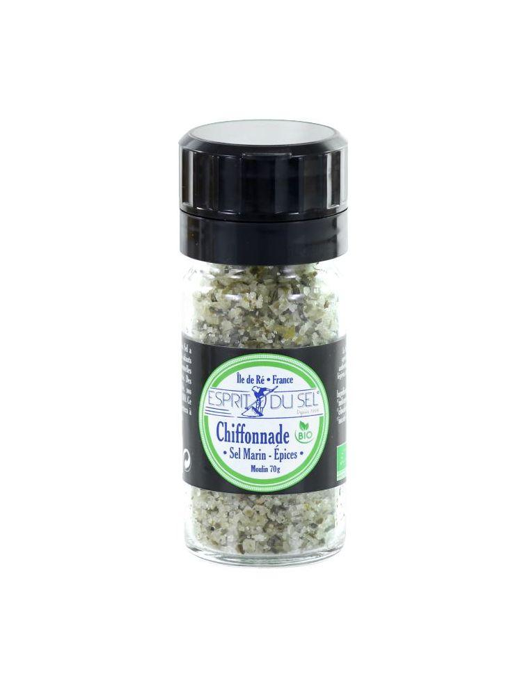 "Sel Marin ""Chiffonnade"" herbes et aromates"